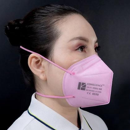 Conscience JW-017 (FFP2) CE & EUA - 20 masks per box @ $.80/mask)