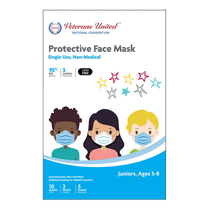 Protective Face Mask for Kids / BFE 98%