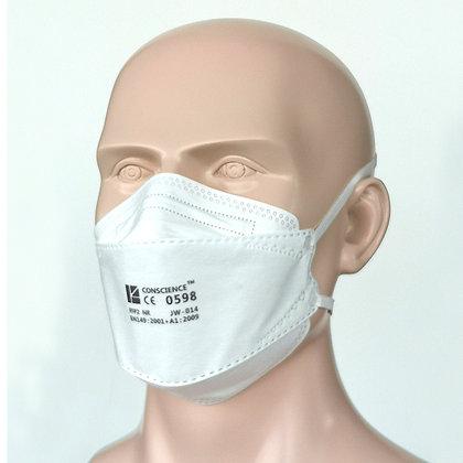 Conscience JW-014 (FFP2)  MOQ = 1 case (1,600 masks)