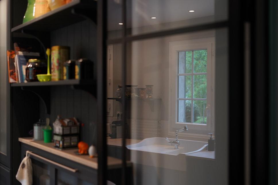 cuisine cottage noire