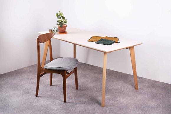 Table 620 chêne et pierre