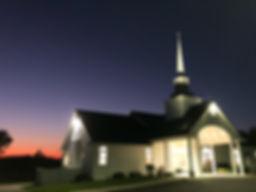 Church at night with sunset.jpg