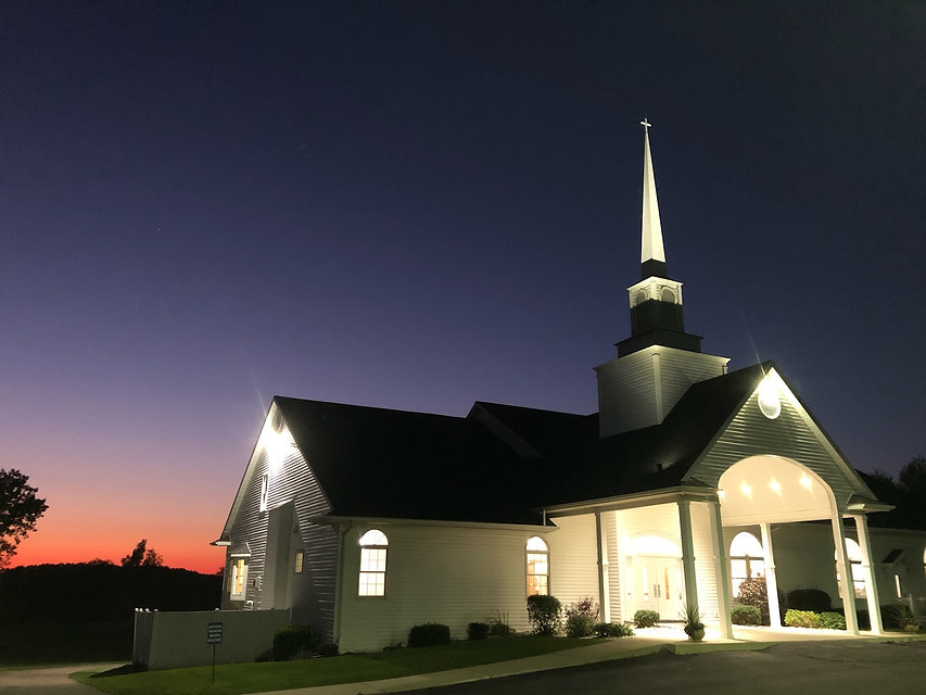 Church at night with sunset.jpg