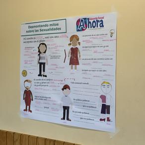 Ya llevamos 3 de 6 Jornadas de Educación Sexual en el Colegio María Teresa Cancino de Recoleta