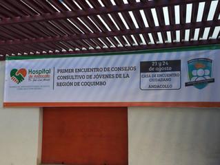 Participamos en el Primer Encuentro  de Jóvenes de Andacollo