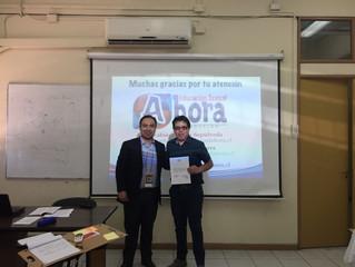 Estuvimos y presentamos una ponencia de investigación en el IIº Congreso de la Sociedad Chilena de E
