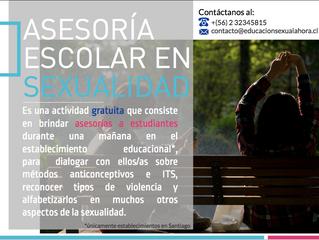 Asesorías gratuitas para estudiantes de establecimientos educacionales en Santiago (Cupos acabados)