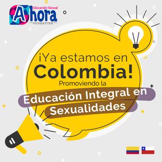 ¡Ya estamos en Colombia!