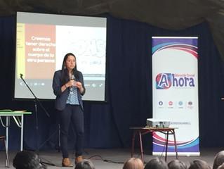 Jornada de Charlas y Talleres realizamos en el Colegio Intercultural Trememn en Maipú