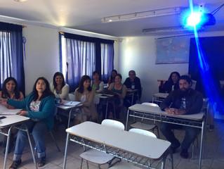 Estuvimos en Cabildo realizando nuestra charla sobre Diversidad junto a docentes del Colegio Pehuen