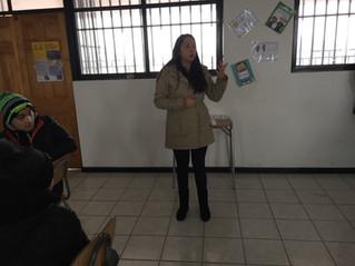 Serie de talleres realizamos en el Colegio Diego Portales de Maipú