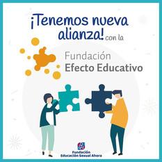 Alianza con Fundación Efecto Educativo