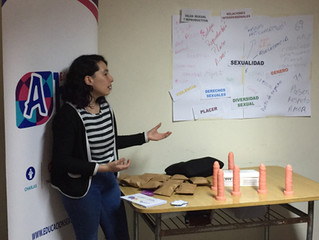 Nos recibió la Comunidad Terapéutica Joven Atrévete para reflexionar y aprender sobre la Salud Sexua