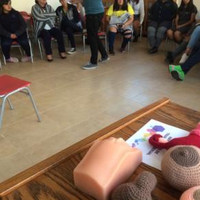 En Ovalle el Internado del Liceo Estela Ávila Molina de Perry nos recibió junto a las estudiantes pa