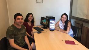 Fuimos entrevistados por estudiantes de periodismo de la Universidad de Santiago de Chile (USACH)