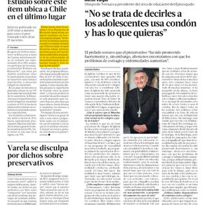 El diario La Tercera nos entrevistó para conocer nuestra opinión sobre las cifras en torno a la Educ