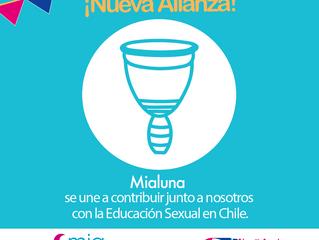 ¡Qué alegría contar conMialuna: Menstruación Conscientecomo un aliado más en pro de la Educación S