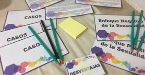 """A Vicuña (IV Región) fuimos para realizar el taller para docentes """"¿Cómo enseñar sexualidad des"""