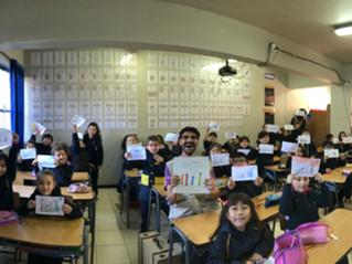 Comenzamos ciclo de charlas y talleres desde Kinder a IVº medio, en el Colegio San Francisco de Sale