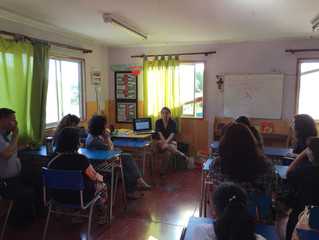 Conversando sobre sexualidad y su educación junto a apoderados/as de la Escuela Especial Belén en Ma