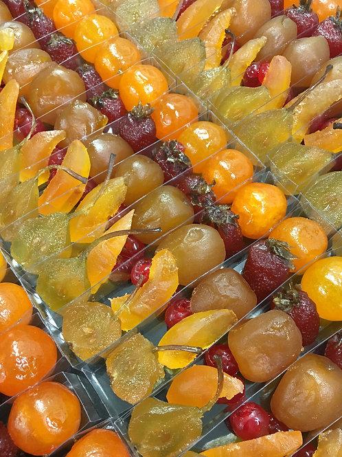 Fruits confits 220g