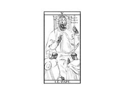 serie Tarocchi - Le Pape