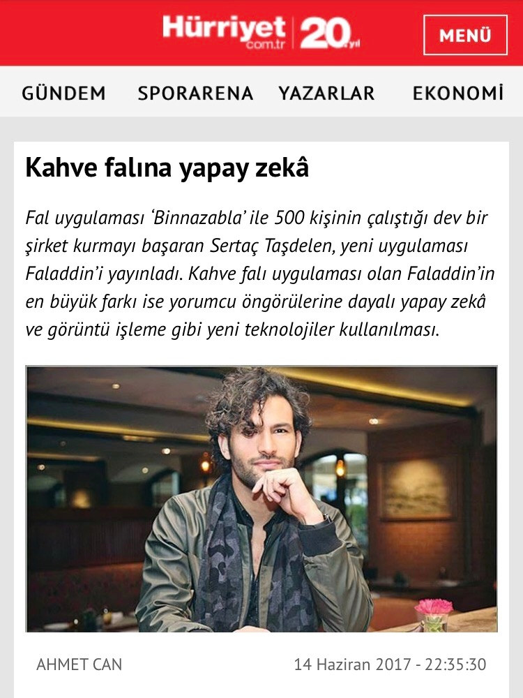 Hurriyet Ekonomi Interview