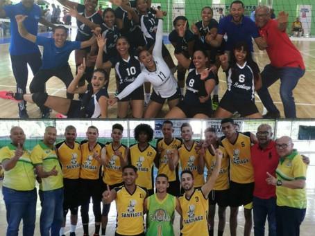 Santiago barre en la Copa Voleibol del Cibao.