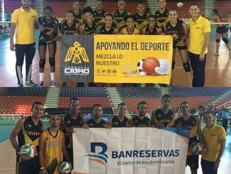 Equipos de Santiago se destacan en Final Torneo Nacional de Voleibol.