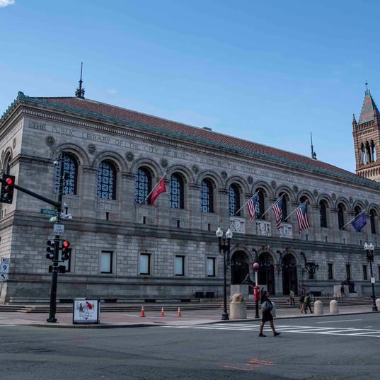 Boston Public Library.