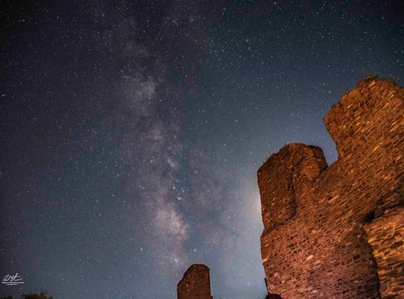 Milky Way Over Quarai