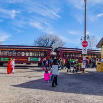Chama Train Station