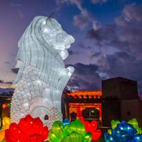 Lion Lantern