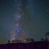 Milky Way over Amalia