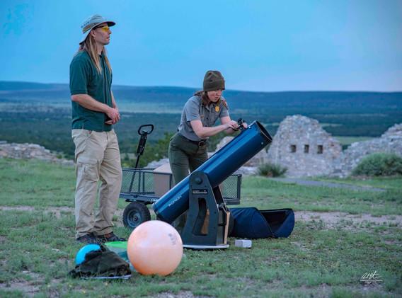 Preparing Telescope