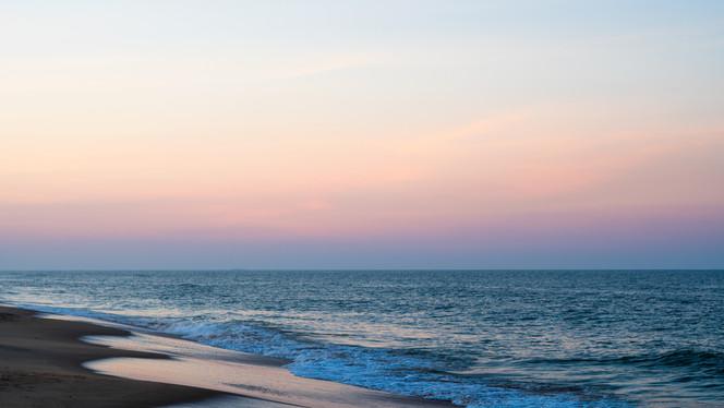 Sunset on Virginia Beach