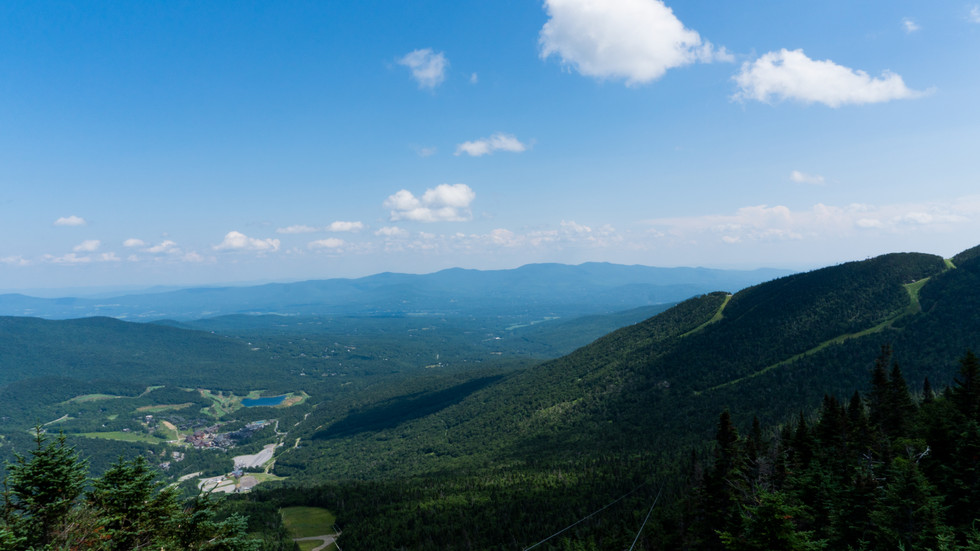 Views from Mt. Stowe, Vermont