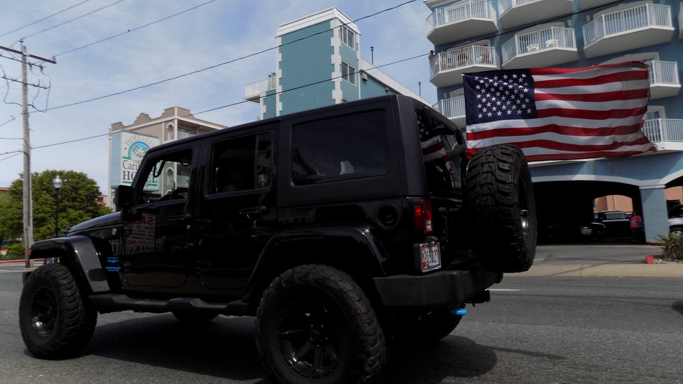 A True Patriot's Jeep