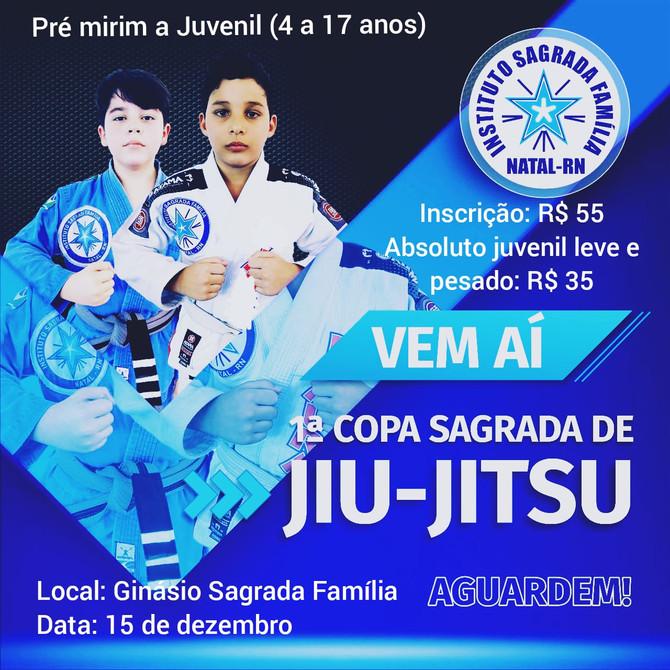 COPA SAGRADA DE JIU-JITSU ABRE INSCRIÇÕES