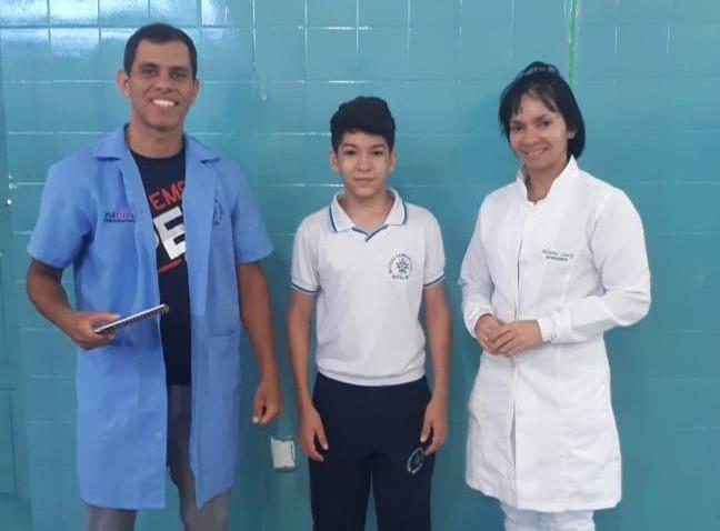 SAGRADA OFERECE AVALIAÇÃO E ATENDIMENTO NUTRICIONAL AOS ALUNOS