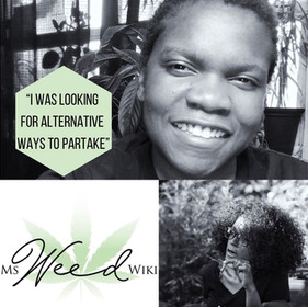 """""""I was looking for alternative ways to partake"""" with reiki healer & tea company owner Tianna Brown"""