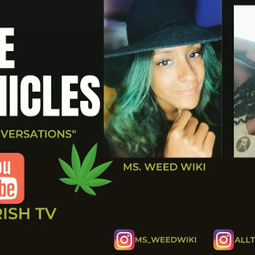 Ms Weedwiki was featured on Coffee Chronicles with Miss Trish