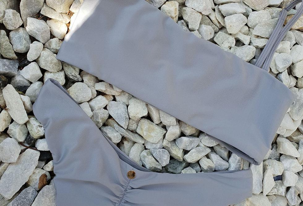 Vestido de baño gris