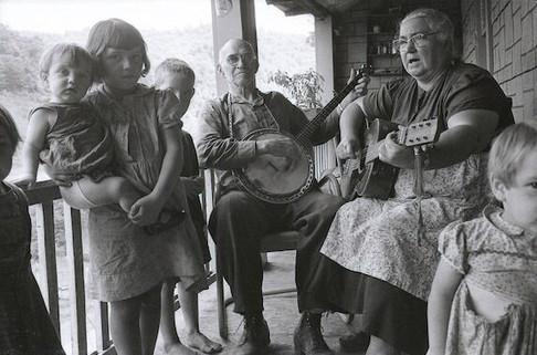 Mr. and Mrs. Sams, Combs, Kentucky, 1959