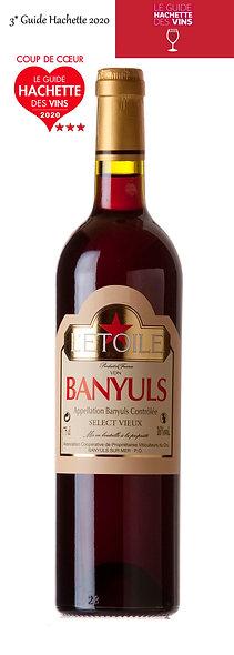 """BANYULS """"SELECT VIEUX"""" GRAND CRU 1992"""