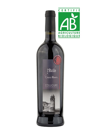 "COLLIOURE ROUGE ""CAUCO ILLIBERIS"" BIO"