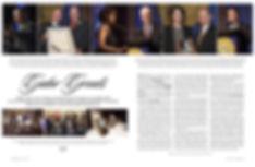 Photo edit + design of feature spread. Alumni Awards ceremony. SF State magazine.