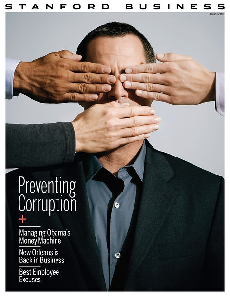 Steven Powell Design. Stanford Business cover art direction. Concept development, art direction + design.