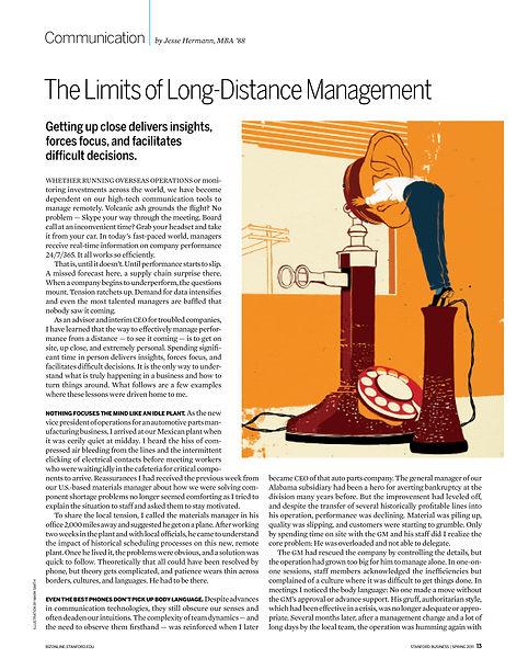 Steven Powell Design. Stanford Business illustration art direction. Illustration art direction