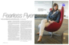 Photo edit + design. SF State intro feature spread. Portrait by Toby Burditt.